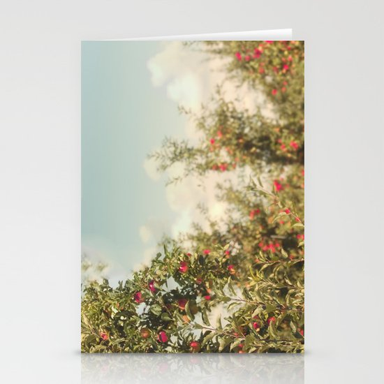 Orchard Blue Stationery Cards