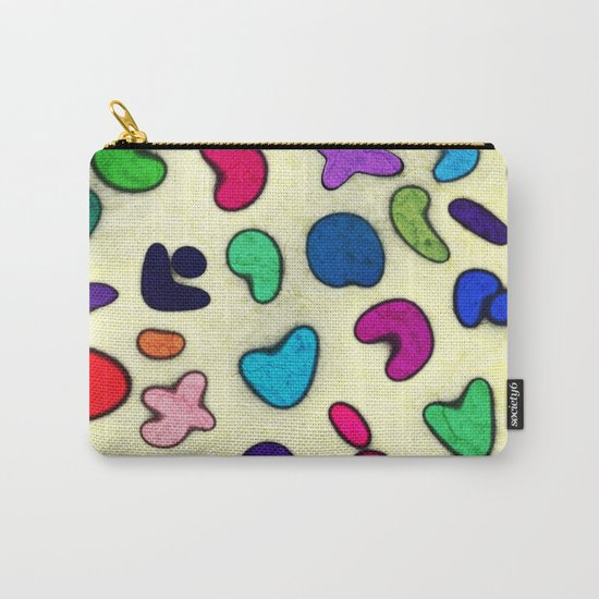 Seamless Colorful Geometric Pattern XXIX Carry-All Pouch