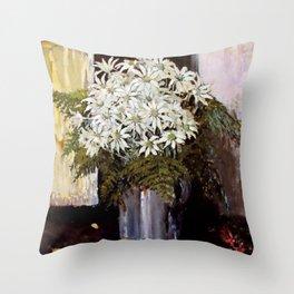 """Banksia"" by Australian Artist Margaret Preston Throw Pillow"