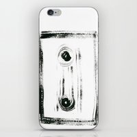 tape iPhone & iPod Skins featuring TAPE by Michela Buttignol