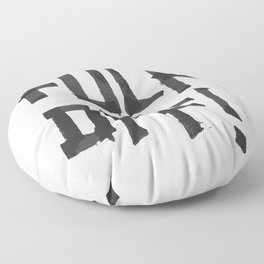 Fuck off Floor Pillow