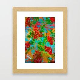 Butterflies and more Framed Art Print