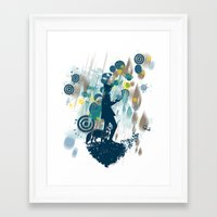 le petit prince Framed Art Prints featuring le petit prince 2010 by frederic levy-hadida