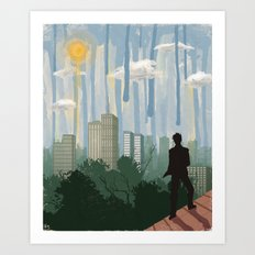 The Sky is Falling Art Print