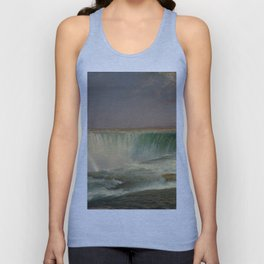 Frederic Edwin Church Niagara 1857 Painting Unisex Tank Top