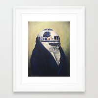 Framed Art Prints featuring R2-Duke2 by Hillary White