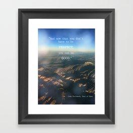 Timshel Framed Art Print