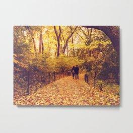 Fall Foliage - Autumn's Finest - New York City Metal Print