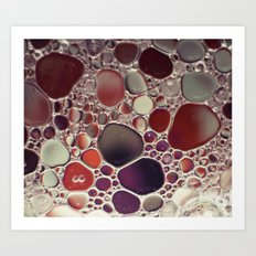 Bubble Abstract Art Print