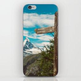 The Matterhorn Valais Switzerland iPhone Skin