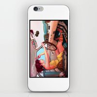 mustang iPhone & iPod Skins featuring The Getaway by Rudy Faber