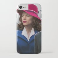 agent carter iPhone & iPod Cases featuring Agent Carter by DandyBee