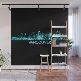 Vancouver Skyline Wall Mural