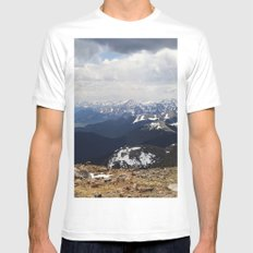 The Front Range Mens Fitted Tee White MEDIUM