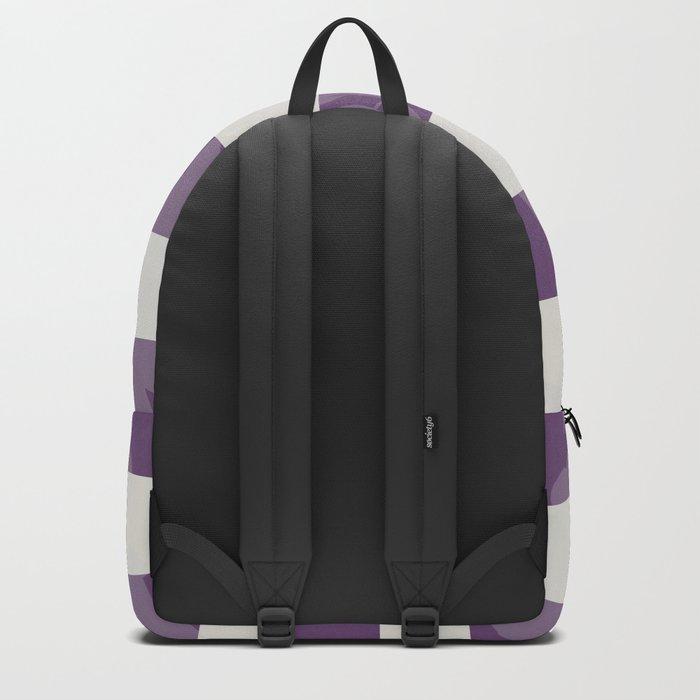 FLORAL IN VIOLET Backpack