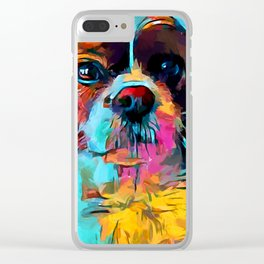 Cavalier King Charles Spaniel 2 Clear iPhone Case