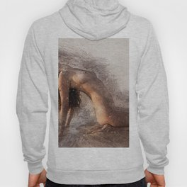 Naked Yoga on the Beach Hoody