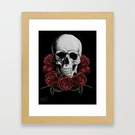 BOUQUET OF DEATH Framed Art Print