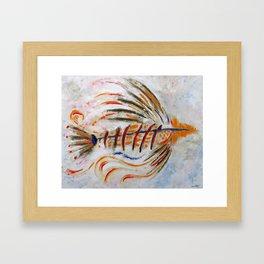 The Fish Framed Art Print