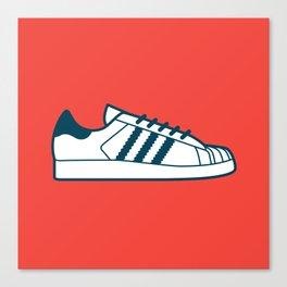 #56 Adidas Superstar Canvas Print