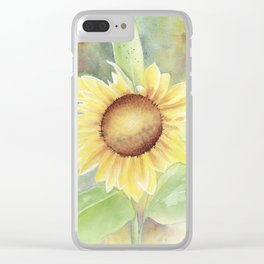 Summer Giant Clear iPhone Case