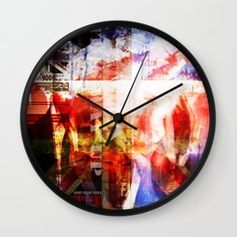 Tory Baguette Wall Clock