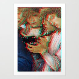 boticelli1 Art Print