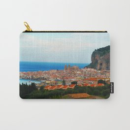 Cityscape of Cefalu Italy Carry-All Pouch