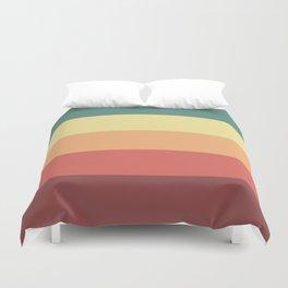 Retro Stripes Duvet Cover