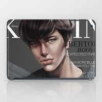 snk iPad Cases featuring SnK Magazine: Bertolt by putemphasis