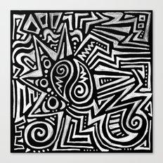ART TRIBE Canvas Print
