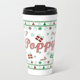 Poppy Christmas Travel Mug