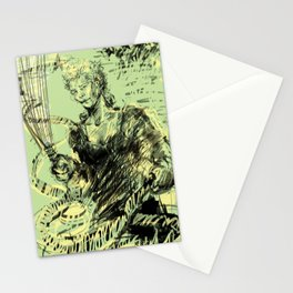 I'LL HOSE YOU DOWN WHILE YOU SLEEP Stationery Cards