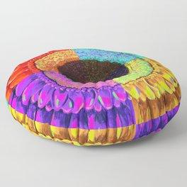 Burst Floor Pillow