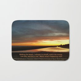 Watch What's Happening Now! Bath Mat