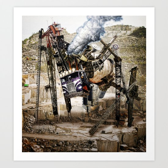 Monster Truck Art Print