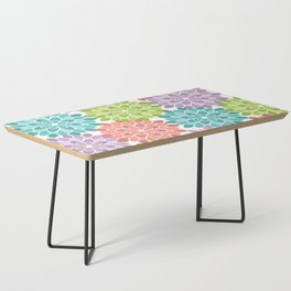 Colorful Summer Coffee Table