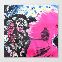 Pink Flower | fleur rose Canvas Print