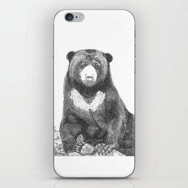 Malayan Sun Bear (Beruang Madu) iPhone Skin