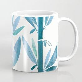 Blue Bamboo Coffee Mug