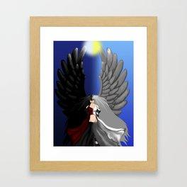Both Sides of an Angel Framed Art Print