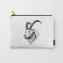Mountain Goat - HandDrawing Carry-All Pouch