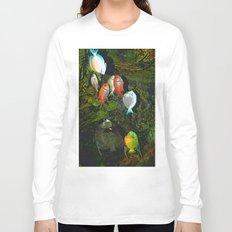 At the Aquarium Long Sleeve T-shirt