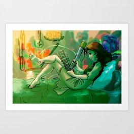 Arrietty's Diary Art Print