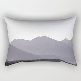 Rocky Mountain Sunset - Colorado Nature Photography Rectangular Pillow