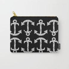 Marble Anchor in Black Carry-All Pouch