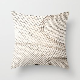 Subway Ceiling Throw Pillow