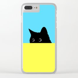 Kitty 2 Clear iPhone Case