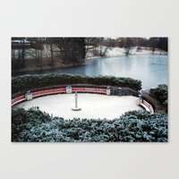 oslo Canvas Prints featuring Oslo by Infra_milk