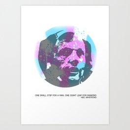 The Moonwalker Art Print